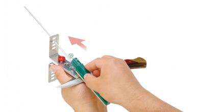 Набор для заточки ножей Deluxe Diamond Lansky, заточка ножа.