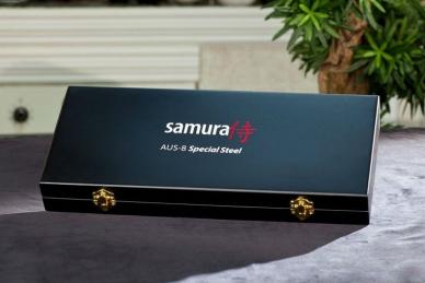 """Набор из 3 ножей """"Поварская тройка"""" MO-V SM-0220/G-10 Samura, Япония"""