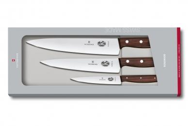 Набор ножей Rosewood Carving из 3 шт. Victorinox
