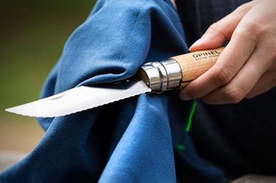 Нож-серрейтор из набора Cuisine Nomade Opinel