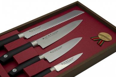 Подарочный набор ножей Swordsmith из 4 шт. Satake