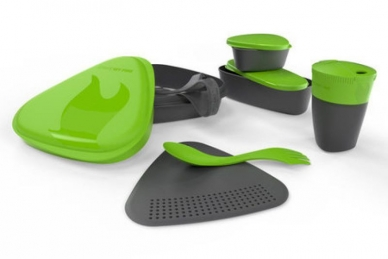 Набор походной посуды MealKit 2.0 (зеленый), Light my Fire