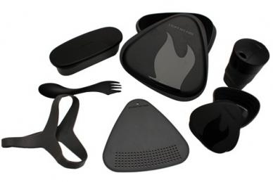 Набор походной посуды MealKit 2.0 (черный), Light my Fire