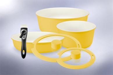 Набор посуды Hatamoto COLOR SET (желтый)