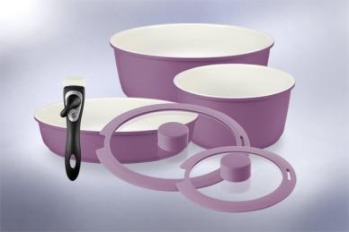 Набор посуды Hatamoto COLOR SET (фиолетовый)