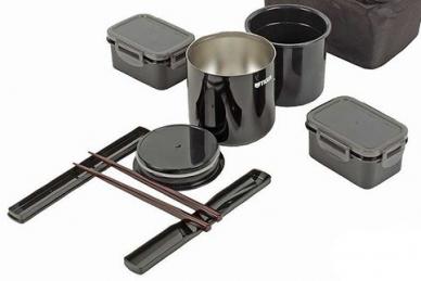 Набор посуды LWY-E046 Black Tiger