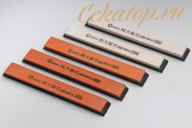 Набор точильных брусков из 5 шт. для станков Apex