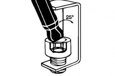 Набор удлиненных дюймовых шестигранных ключей из 13 шт. Bondhus