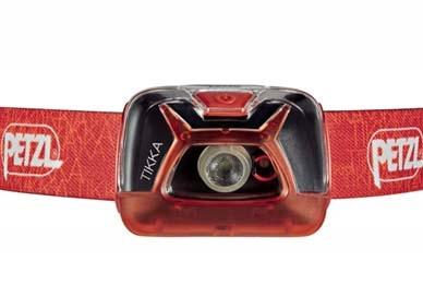 Фонарь налобный светодиодный TIKKA (красный) Petzl