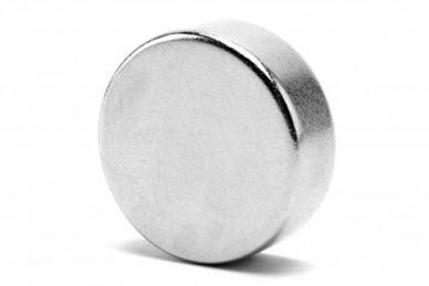 Неодимовый дисковый магнит для точилок Apex и Ganzo (20х5 мм)