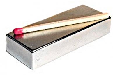 Магнит неодимовый для точилок Ganzo и Apex, прямоугольник