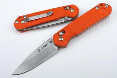 Нож складной G717 (оранжевый) Ganzo