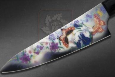Нож керамический Chou No Mai Pearl Gray MNV-2001-5