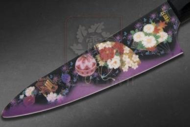 Нож керамический Yume no Utage Black MNV-2004-5