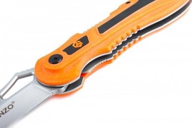 Нож складной G621 (оранжевый) Ganzo, замок
