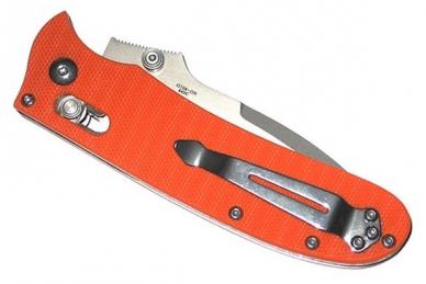 Нож складной G704 (оранжевый) Ganzo, в сложенном виде