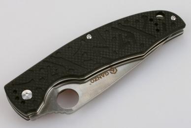 Нож складной G7321 (черный) Ganzo, в сложенном виде