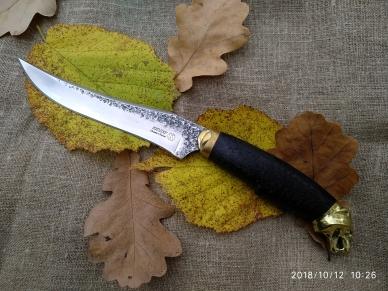 Нож Акела Кизляр из кованой стали Х12МФ