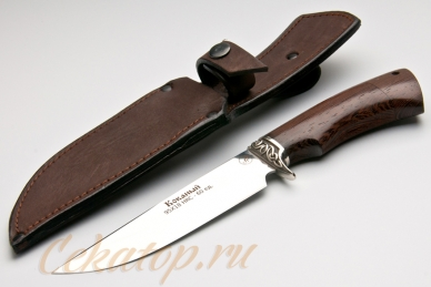 Нож и ножны Газель (95Х18) Алексей Фурсач (Ворсма)