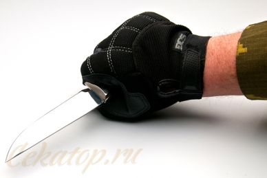 Нож Газель малая (95Х18) Алексей Фурсач (Ворсма)