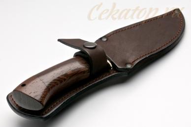 Нож Рыбак малый (95Х18) Алексей Фурсач (Ворсма), ножны