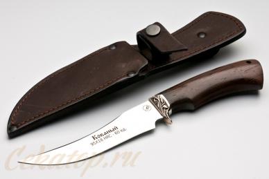 Нож и ножны Рыбак малый (95Х18) Алексей Фурсач (Ворсма)