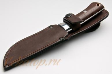 Нож Тигр (95Х18, полный хвостовик) Алексей Фурсач (Ворсма), ножны