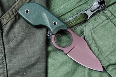 Практичный нож Amigo X (D2, Titanium, Green G-10) Kizlyar Supreme