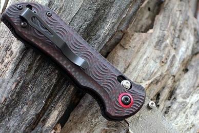 Нож Benchmade Stryker II (Odin Heim Damasteel)