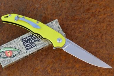 Нож Reptilian «Кавалер» (lime)