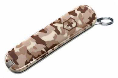 Складной нож Classic SD (Desert Como) Victorinox, сложен