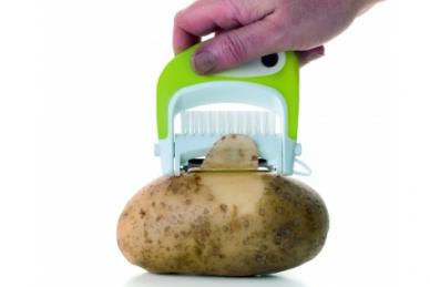 Нож для чистки овощей со щеткой, TimA Россия