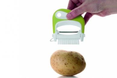 Нож для чистки овощей со щеткой, TimA