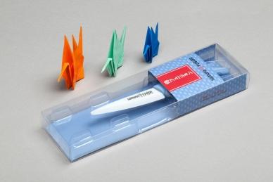 Нож керамический Samura Fusion SF-0010 Blue для чистки овощей