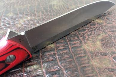 Отличный нож «Есаул» (Red-Black) Steelclaw
