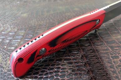 Крепкий нож «Есаул» (Red-Black) Steelclaw