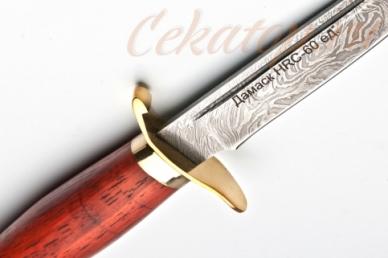 Нож Финка НКВД СССР (дамасская сталь) Лебежь, логотип