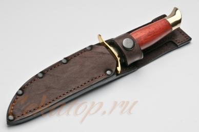 Нож Финка НКВД СССР (дамасская сталь) Лебежь в ножнах