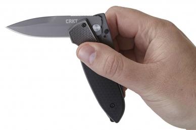 Складной нож Fulcrum 2 CRKT, извлечение клинка