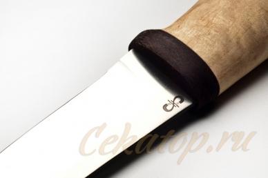 "Нож ""Ганза"" (сталь RWL-34 Damasteel) АИР"