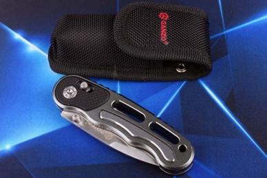 Нож G718 (серый) Ganzo