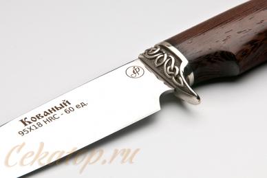 Нож Газель (95Х18) Алексей Фурсач (Ворсма), клеймо
