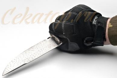 Нож Газель (ХВ5) Алексей Фурсач (Ворсма), клинок