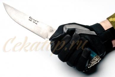 Нож Газель (литой булат) Алексей Фурсач (Ворсма), Россия, клинок