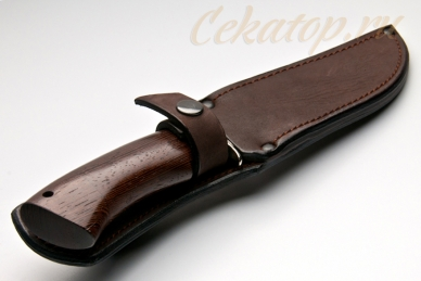 Нож Газель малая (95Х18) Алексей Фурсач (Ворсма), ножны