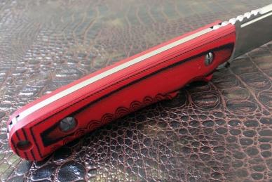 Практичный нож «Гроза» (Red-Black) Steelclaw