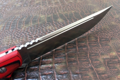 Замечательный нож «Гроза» (Red-Black) Steelclaw