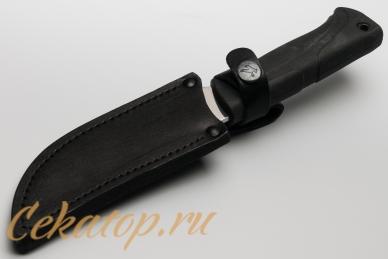 """Нож """"Гюрза-2"""" (клинок без покрытия) Кизляр, ножны"""
