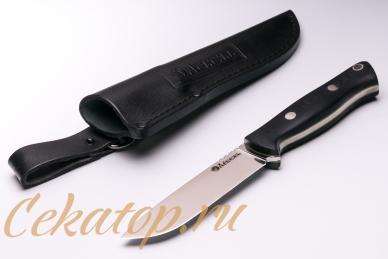 Нож и ножны «Отважный 1917» (сталь N690) Лебежь, Россия