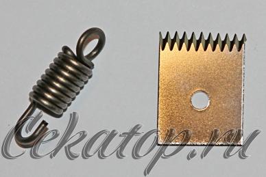 Ремкомплект для тапенера - нож для обрезки ленты и пружина